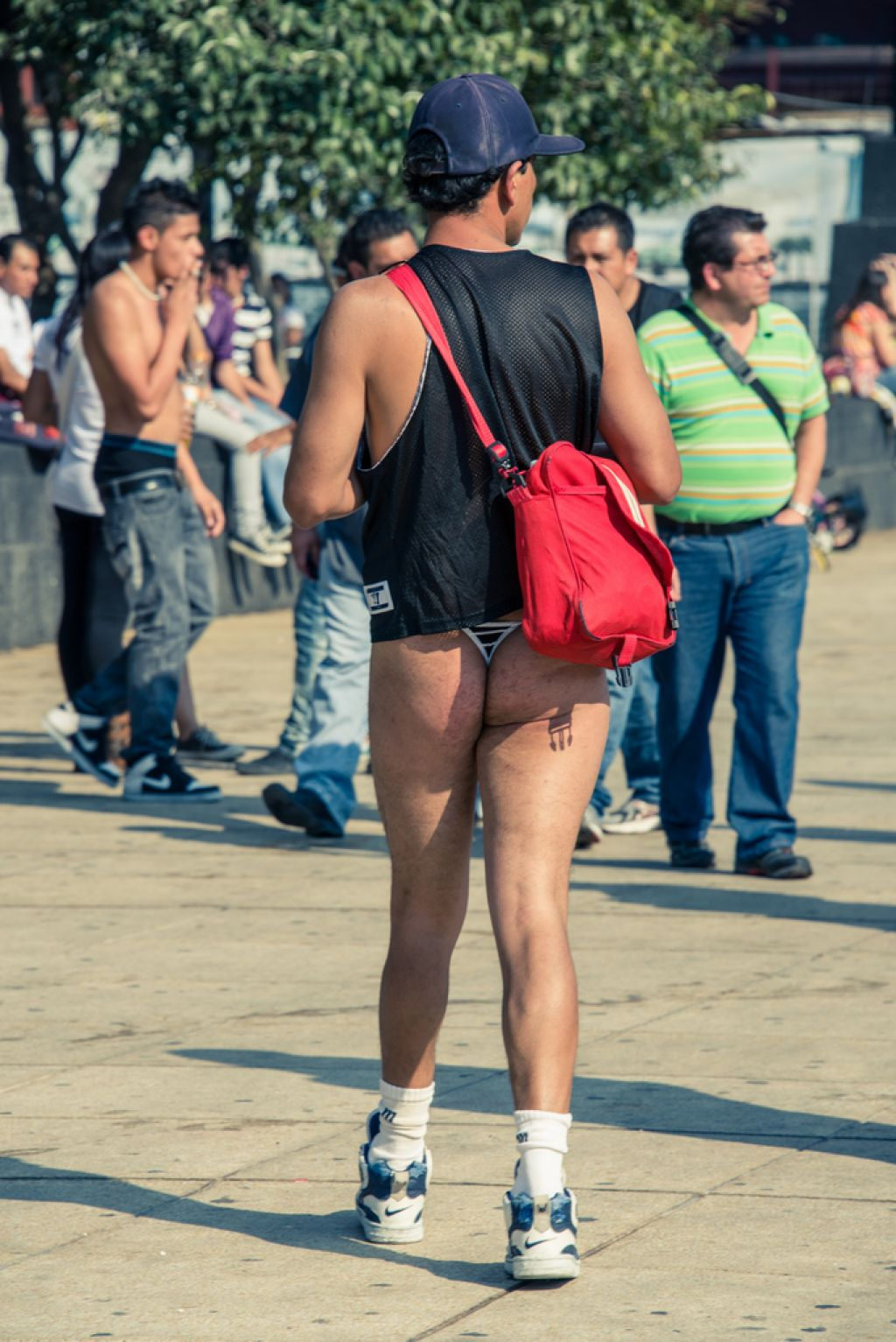 no pants3 No Pants Day in Mexico City