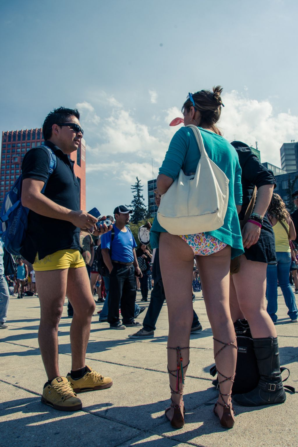 no pants8 No Pants Day in Mexico City