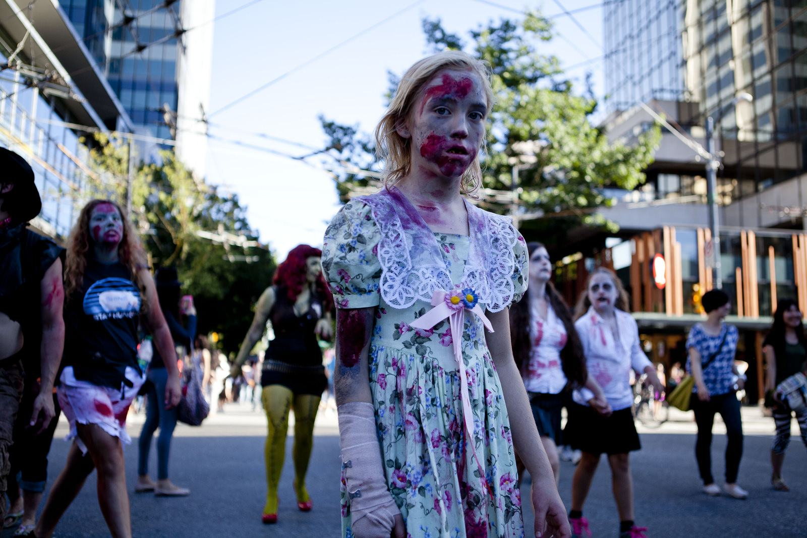 zombie2 Vancouvers Biggest Zombie Walk 2014