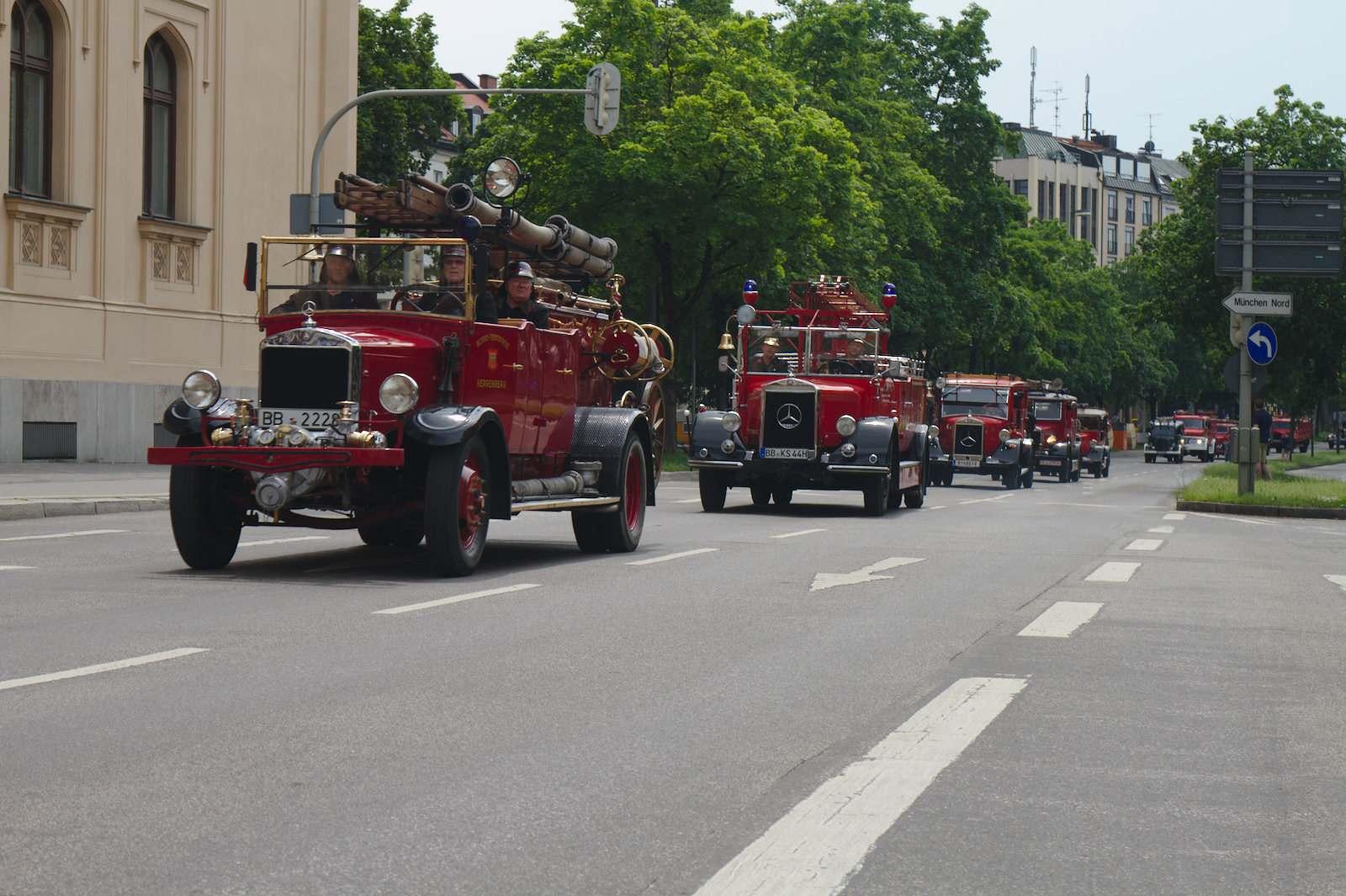 volunteer fire department1 150 Years Volunteer Fire Department in Munich