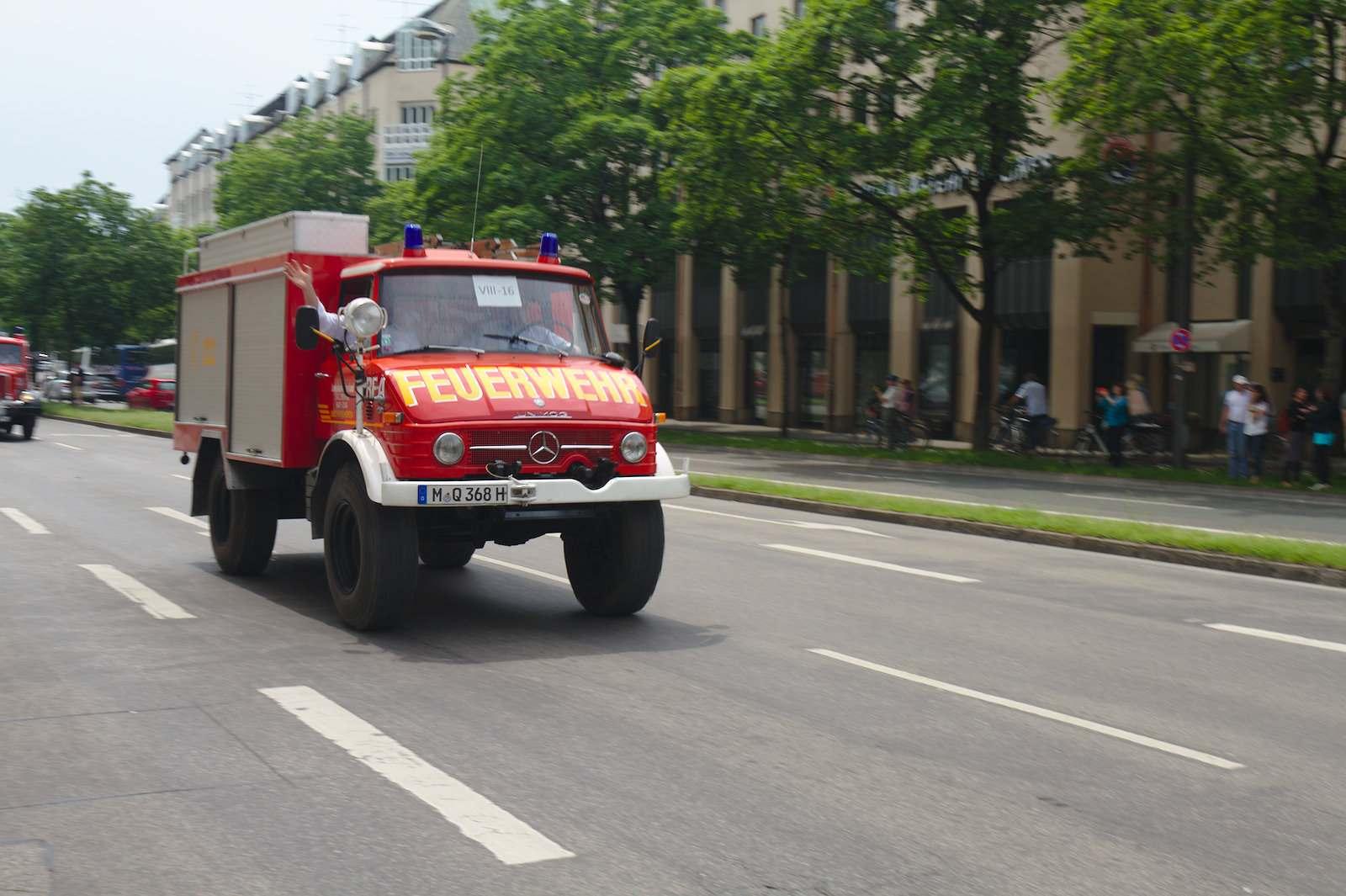 volunteer fire department10 150 Years Volunteer Fire Department in Munich