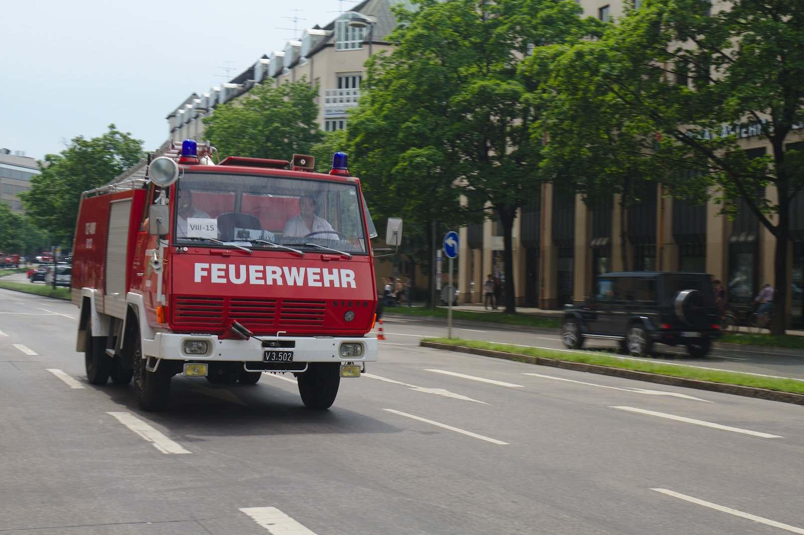 volunteer fire department11 150 Years Volunteer Fire Department in Munich