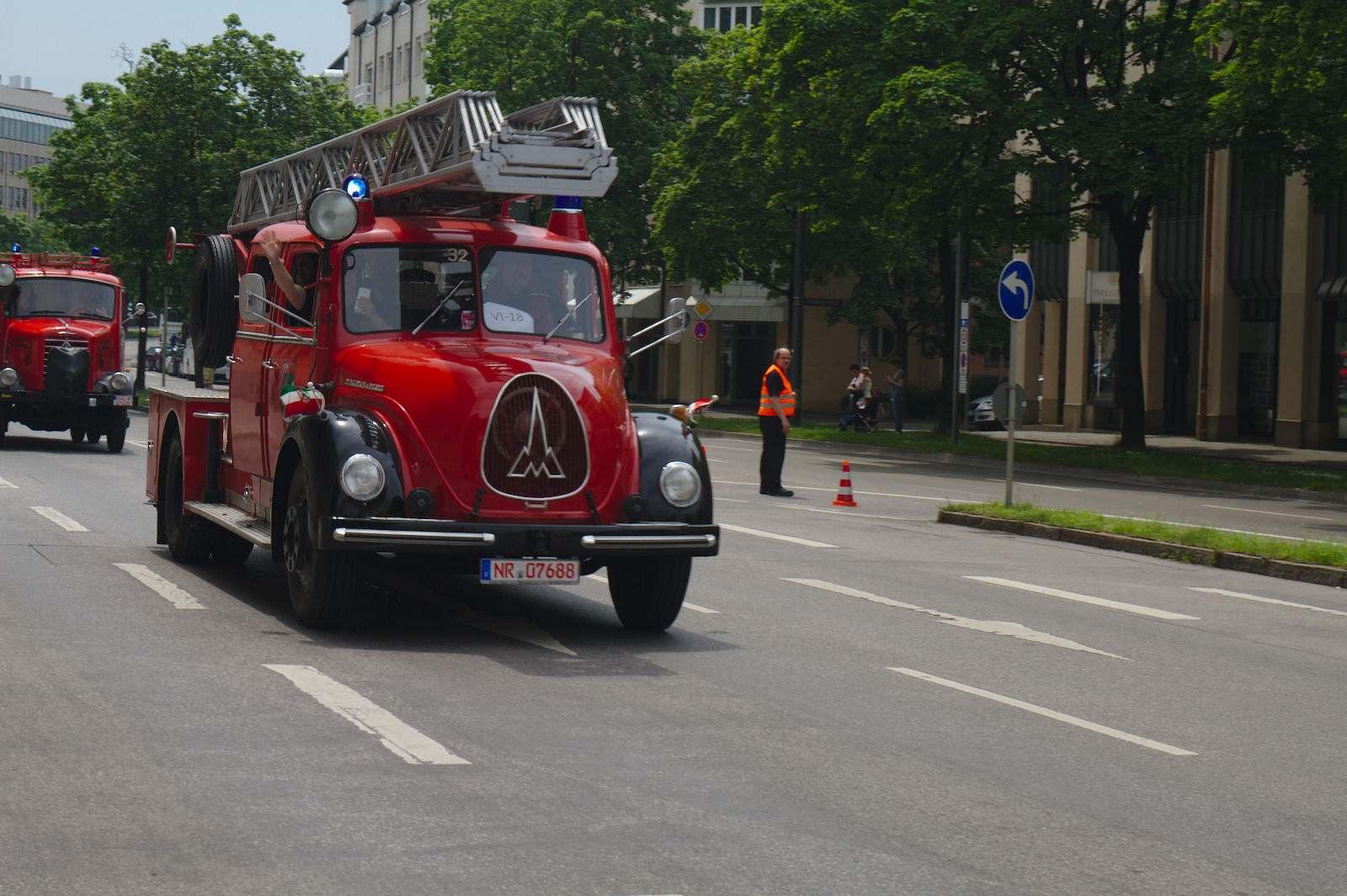 volunteer fire department12 150 Years Volunteer Fire Department in Munich