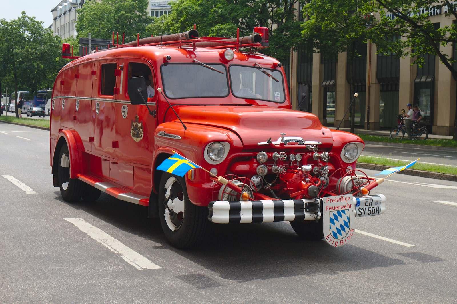 volunteer fire department13 150 Years Volunteer Fire Department in Munich