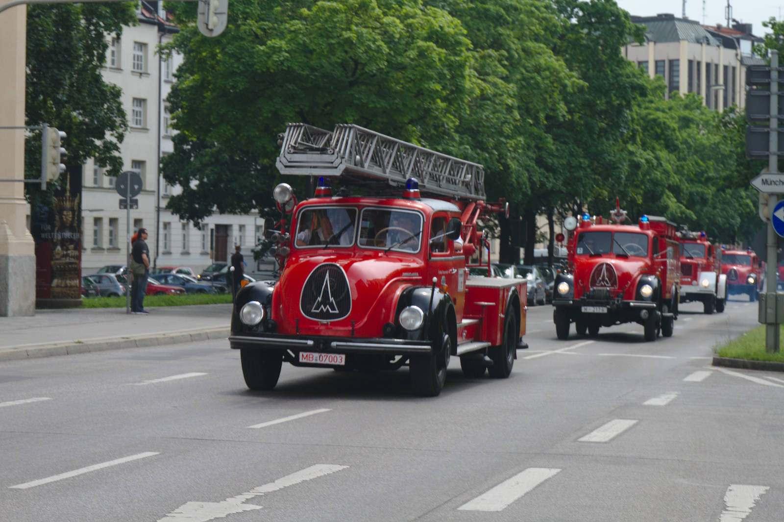 volunteer fire department15 150 Years Volunteer Fire Department in Munich