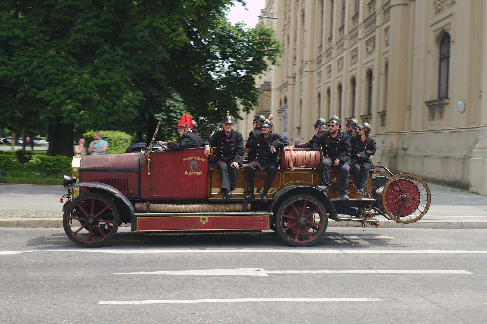 volunteer fire department3 150 Years Volunteer Fire Department in Munich