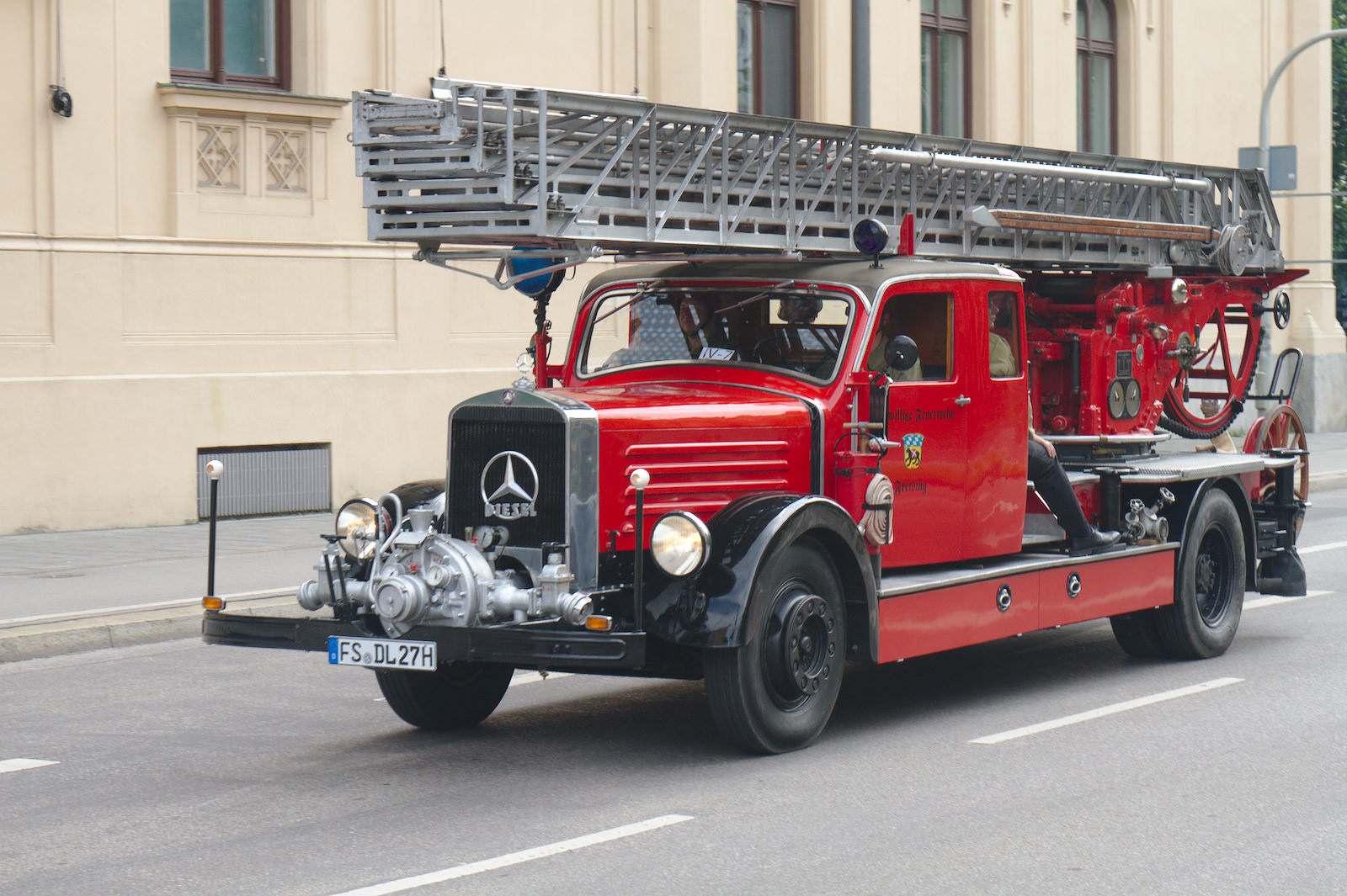volunteer fire department4 150 Years Volunteer Fire Department in Munich