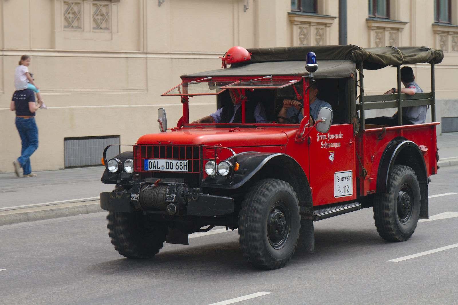 volunteer fire department7 150 Years Volunteer Fire Department in Munich