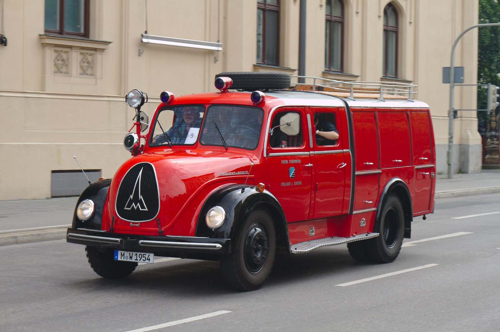 volunteer fire department8 150 Years Volunteer Fire Department in Munich