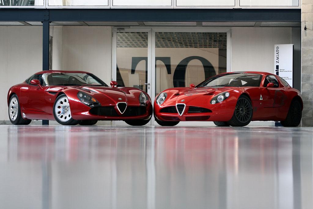 alfa zagato1 Alfa Romeo Zagato Stradale