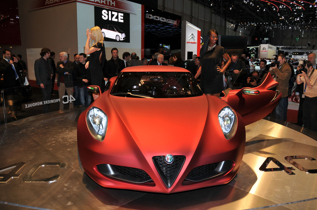 alfa romeo 4c Amazing Alfa Romeo 4C Concept
