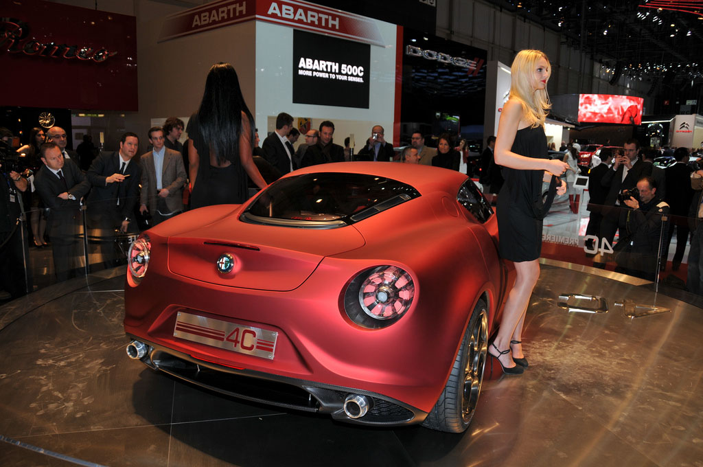 alfa romeo 4c1 Amazing Alfa Romeo 4C Concept