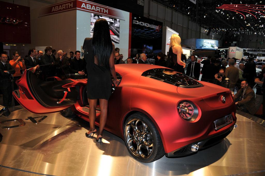 alfa romeo 4c2 Amazing Alfa Romeo 4C Concept