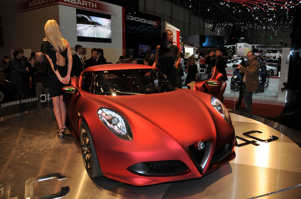 alfa romeo 4c3 Amazing Alfa Romeo 4C Concept