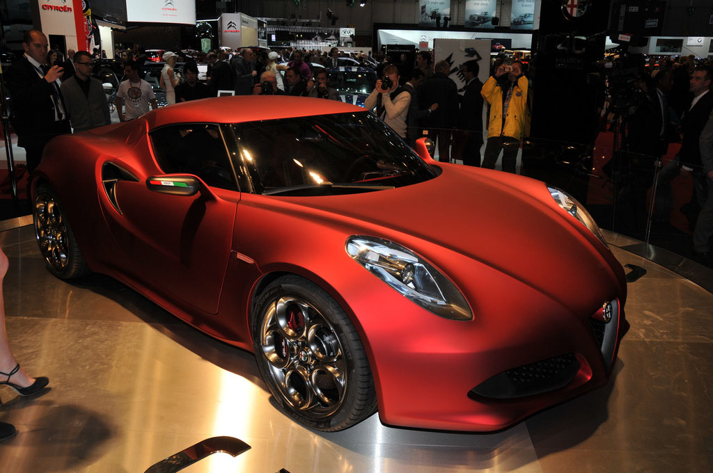 alfa romeo 4c7 Amazing Alfa Romeo 4C Concept