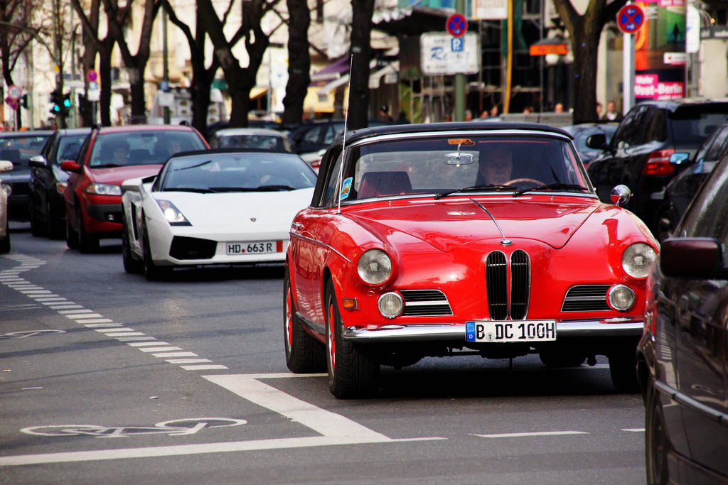 amazing supercars streets berlin12 Amazing Supercars in the Streets of Berlin