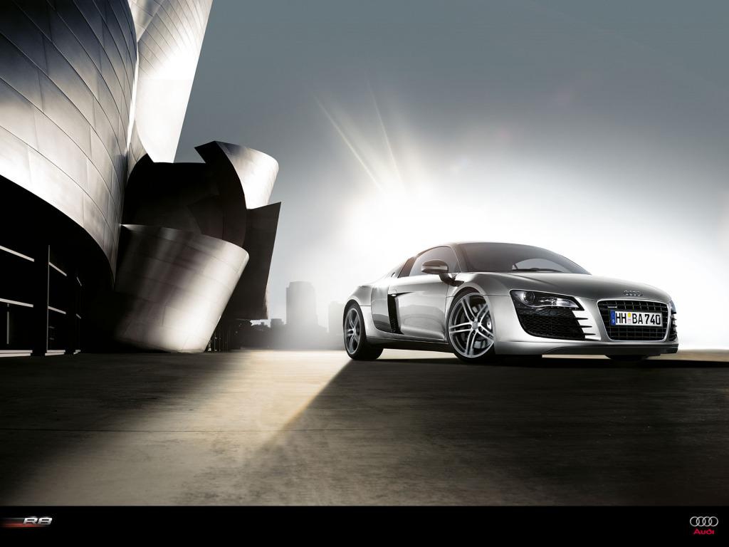 audi r8 wallpaper1 Audi R8   SportsCar of The Year