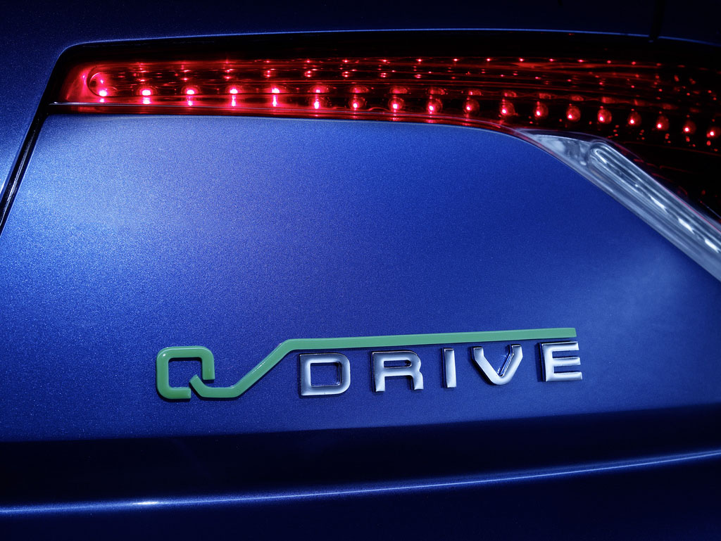 fisker karma7 Blue Fisker Karma with Q Drive