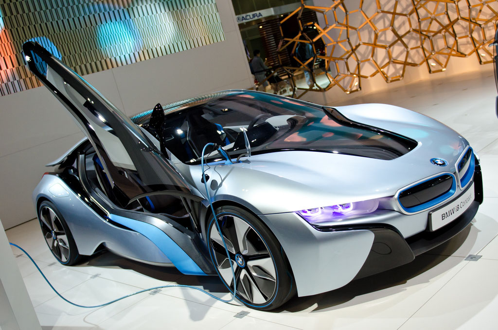 bmw concept BMW Looks to the Future   i8 and i3 Concept