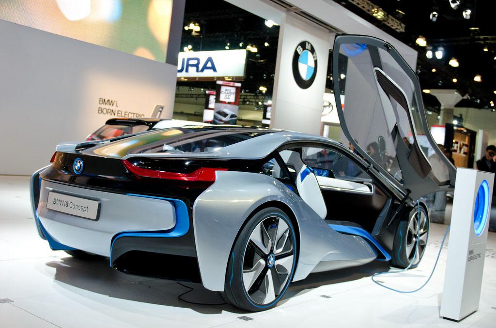 bmw concept1 BMW Looks to the Future   i8 and i3 Concept