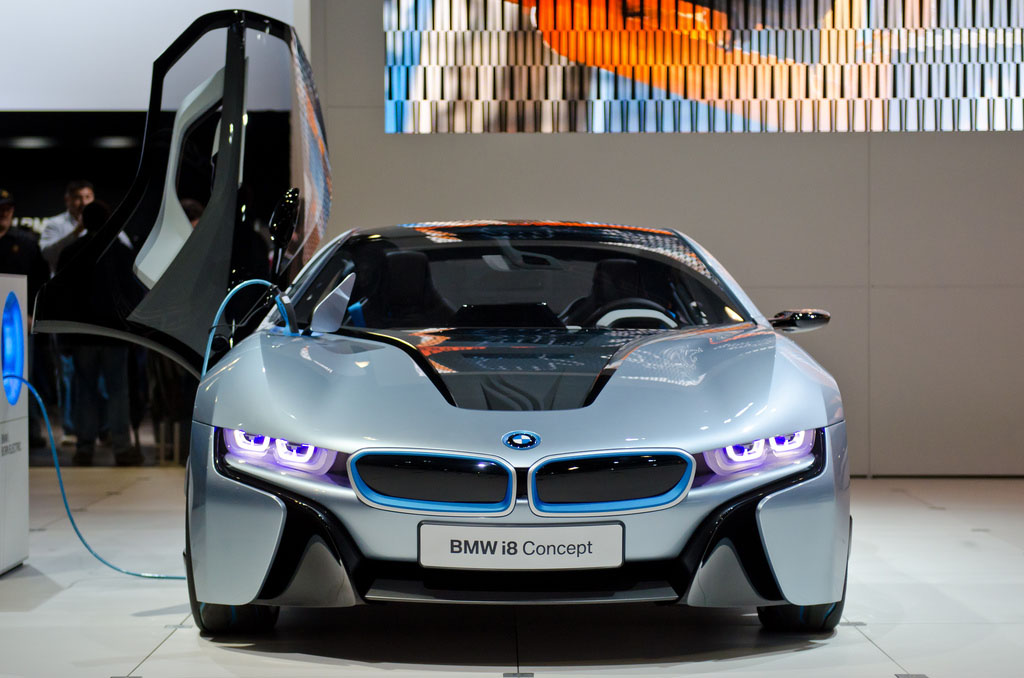 bmw concept2 BMW Looks to the Future   i8 and i3 Concept