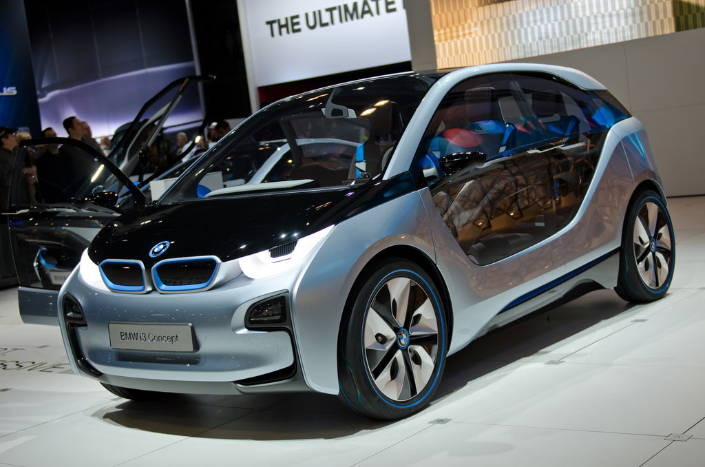 bmw concept4 BMW Looks to the Future   i8 and i3 Concept
