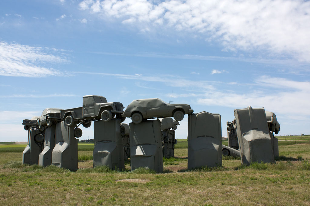 carhenge1 Car Replica of Stonehenge, Nebraska