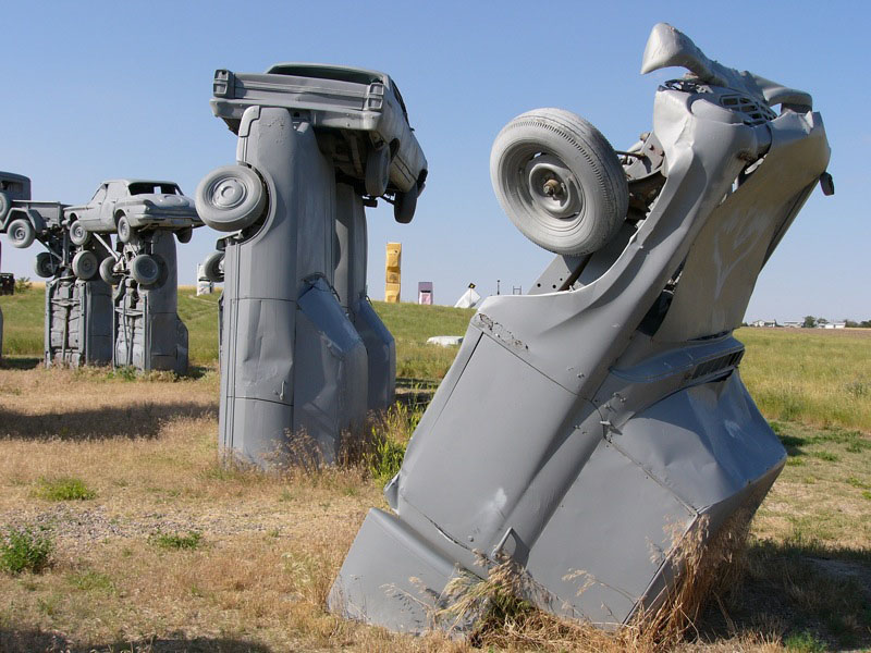 carhenge9 Car Replica of Stonehenge, Nebraska