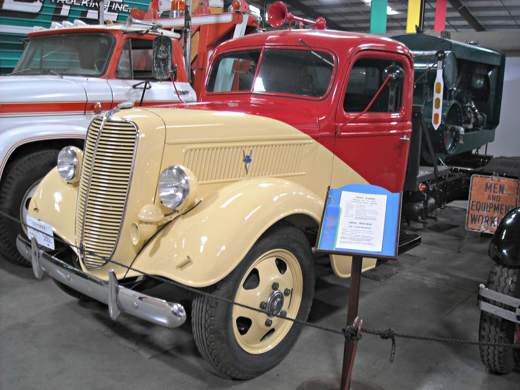 classic trucks11 Classic Trucks in Hays Antique Museum, California