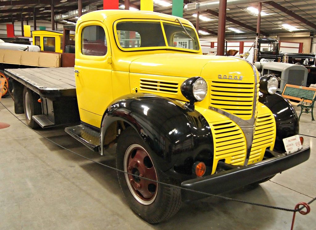 classic trucks7 Classic Trucks in Hays Antique Museum, California