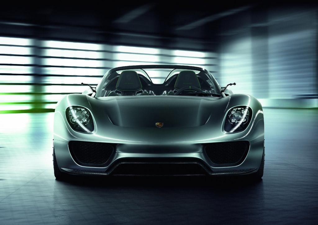 porsche 918 spyder1 Dream cars: Porsche 918 Spyder