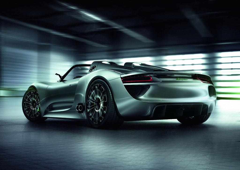 porsche 918 spyder3 Dream cars: Porsche 918 Spyder