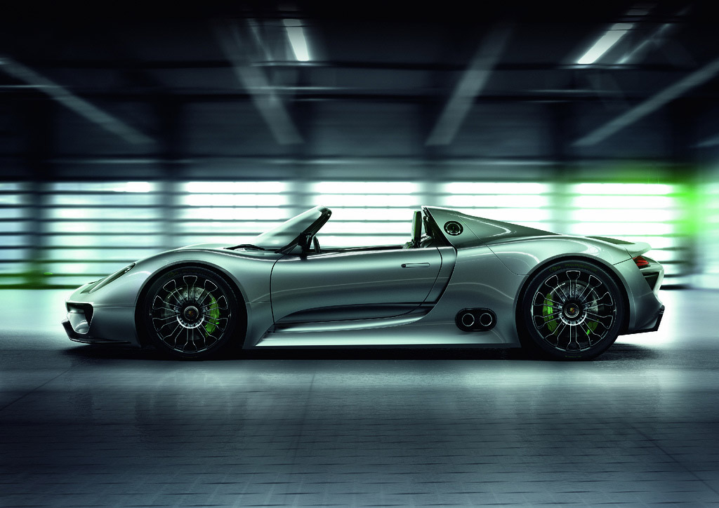 porsche 918 spyder6 Dream cars: Porsche 918 Spyder