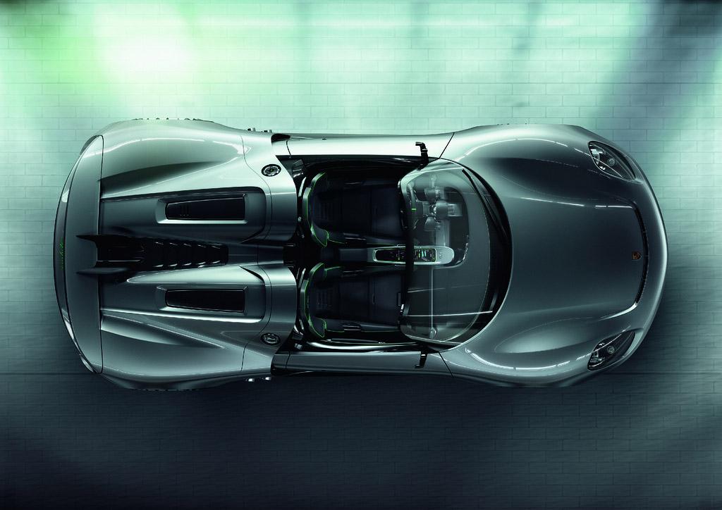 porsche 918 spyder7 Dream cars: Porsche 918 Spyder