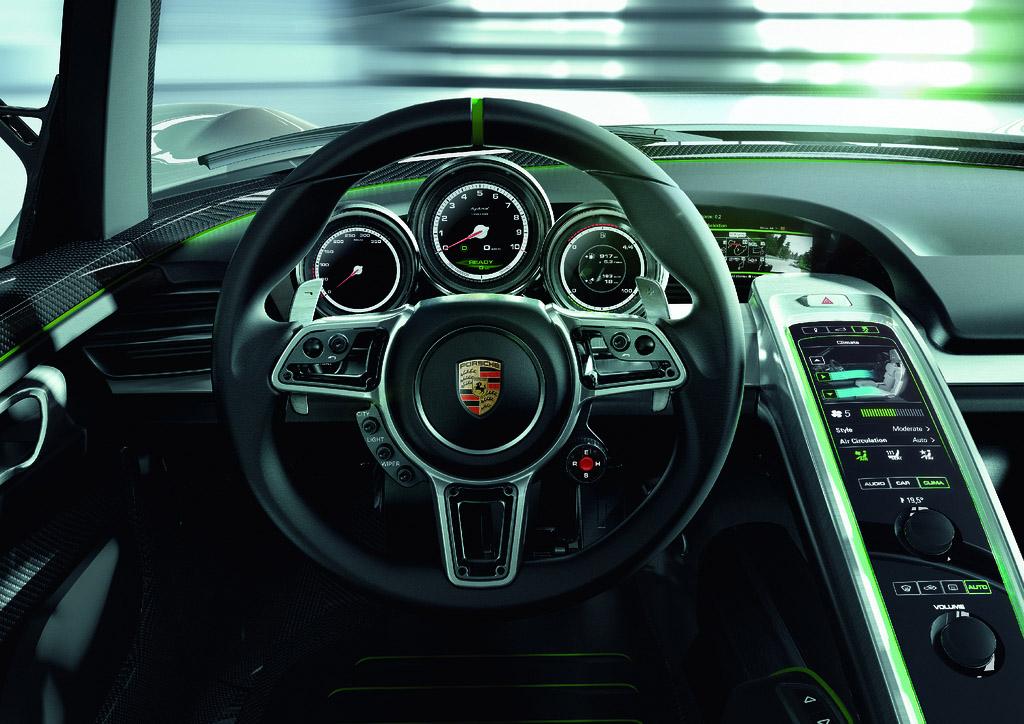 porsche 918 spyder8 Dream cars: Porsche 918 Spyder