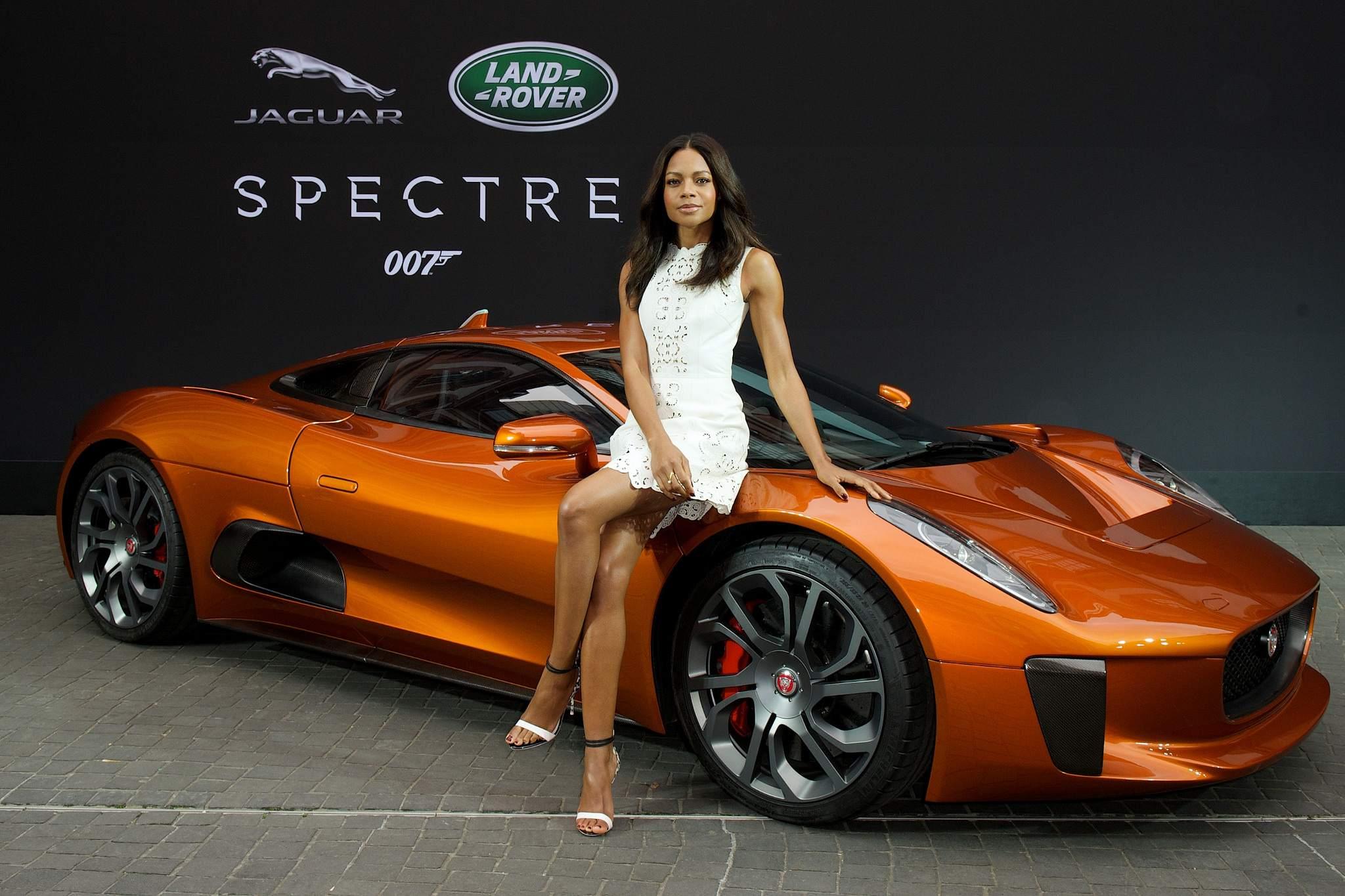 spectre car2 Jaguar Land Rover Latest Bond Cars
