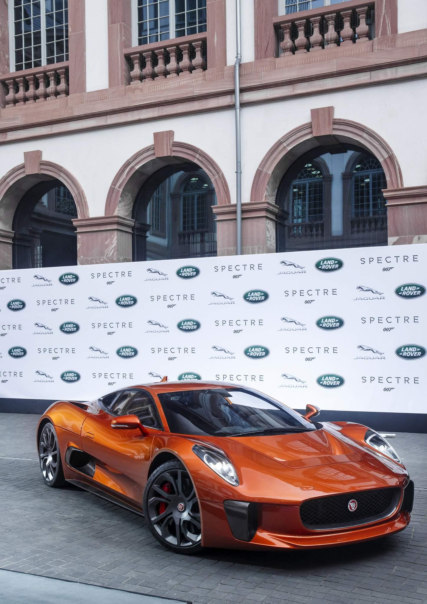spectre car4 Jaguar Land Rover Latest Bond Cars