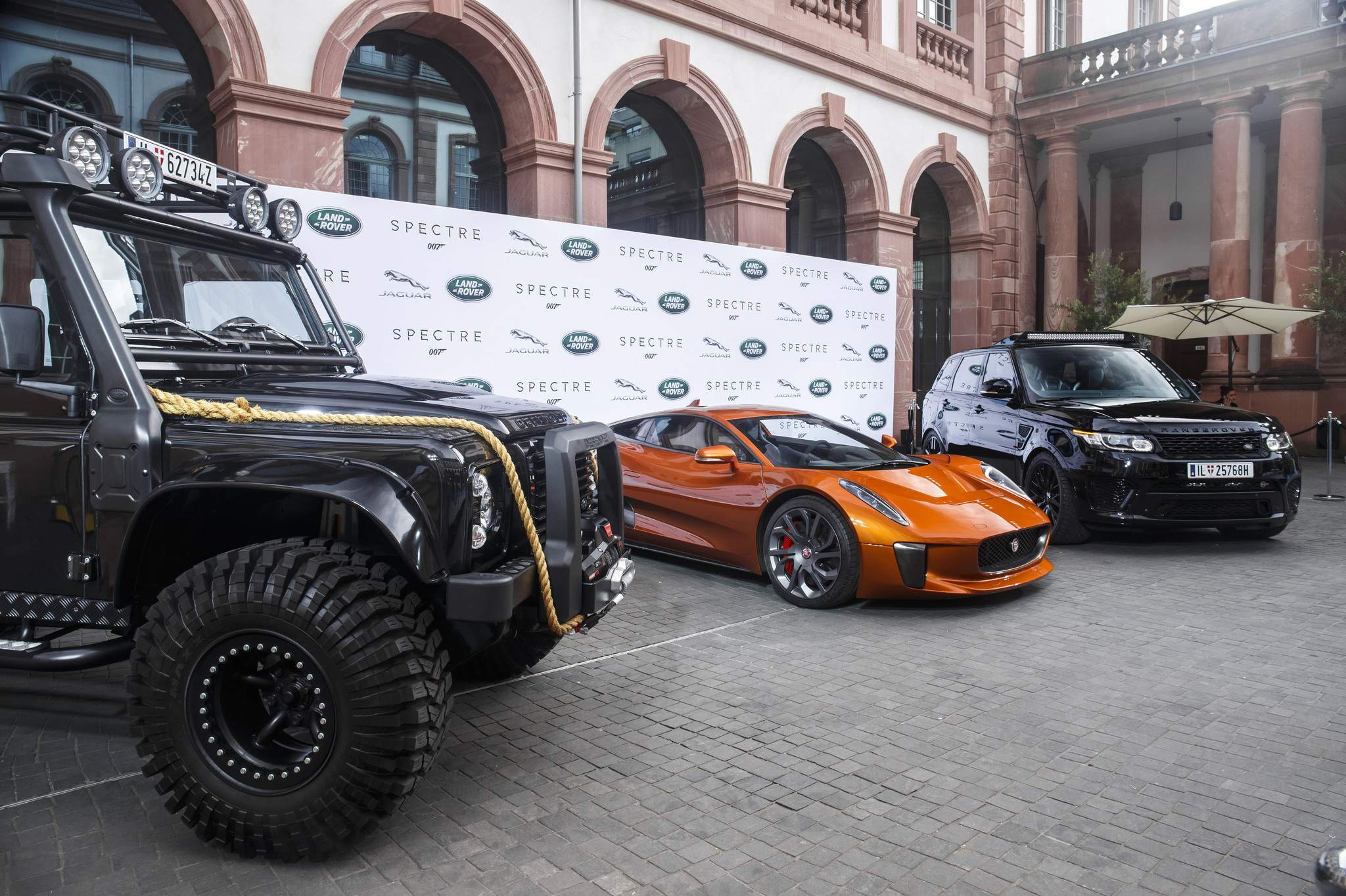 spectre car8 Jaguar Land Rover Latest Bond Cars