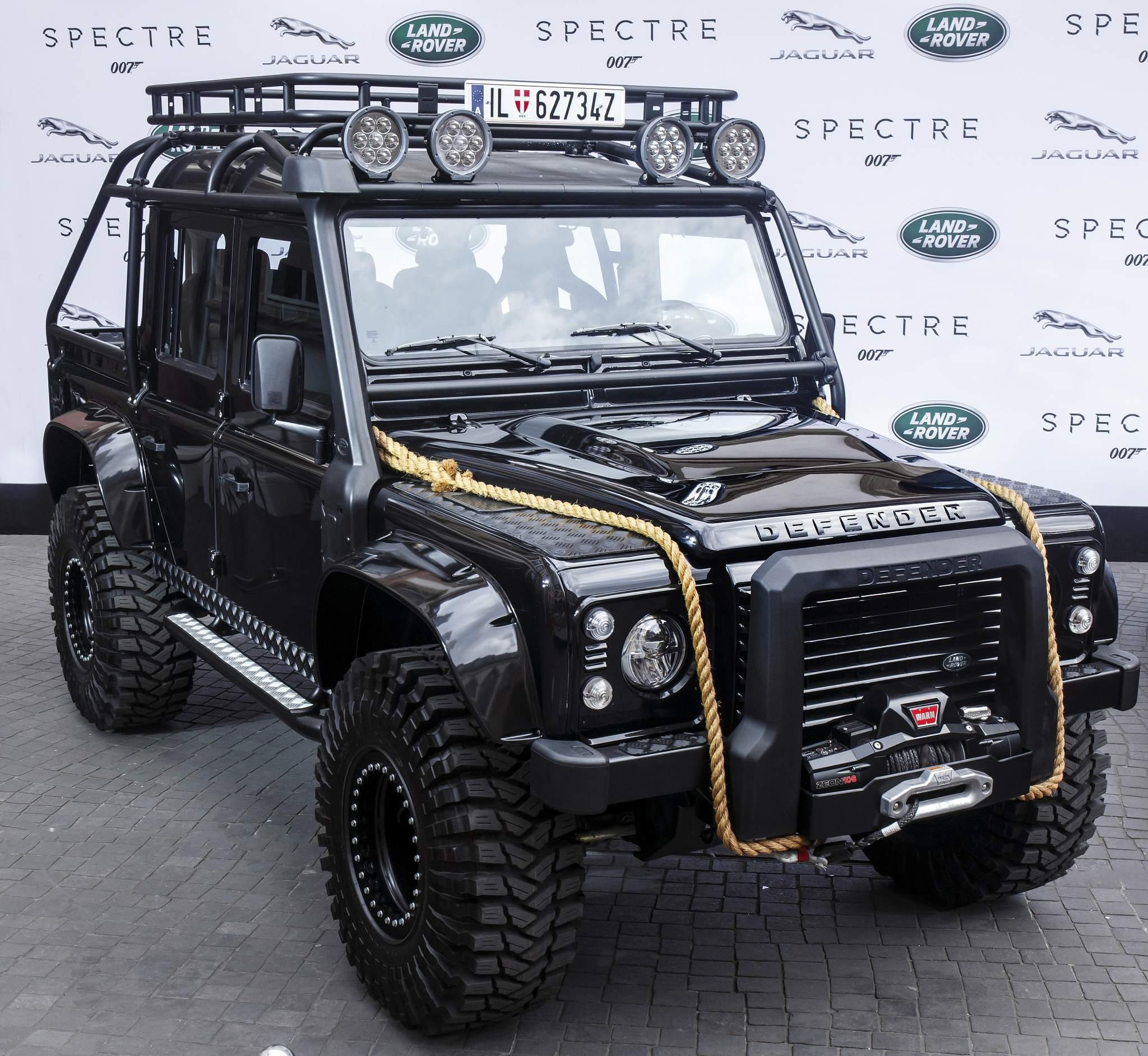 spectre car9 Jaguar Land Rover Latest Bond Cars
