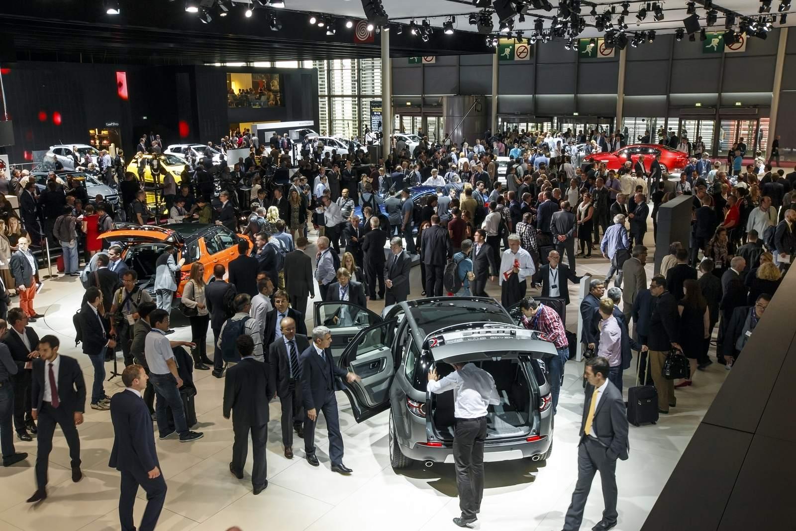 paris motor show3 Jaguar and Land Rover at Paris Auto Show 2014
