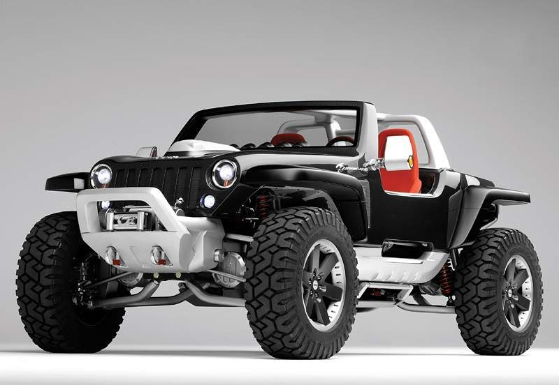 jeep hurricane Jeep Hurricane a Different Dimension