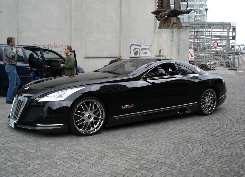maybach exelero13 Maybach Exelero   8 Milion Dollar Car
