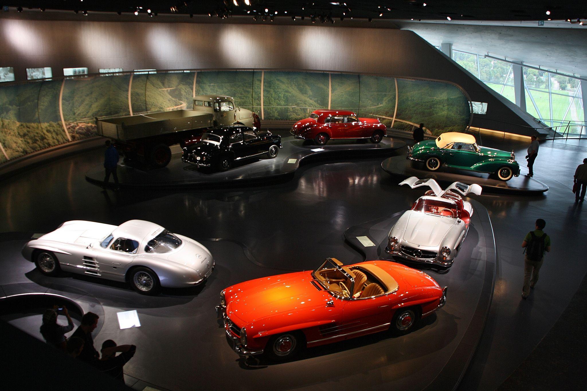 mercedes benz museum Mercedes Benz Museum in Stuttgart, Germany