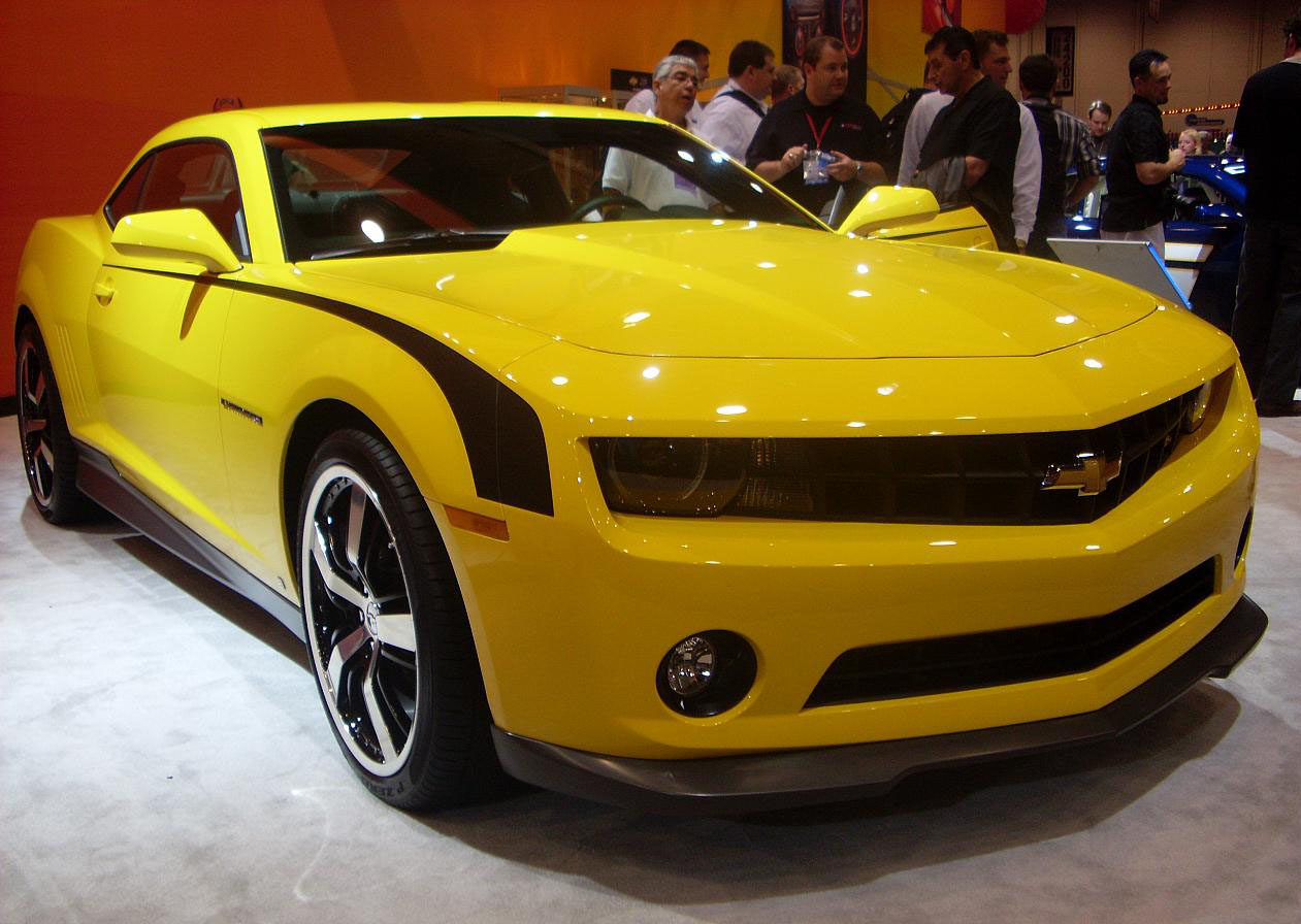 Muscle Cars Chevrolet Camaro At Sema Show