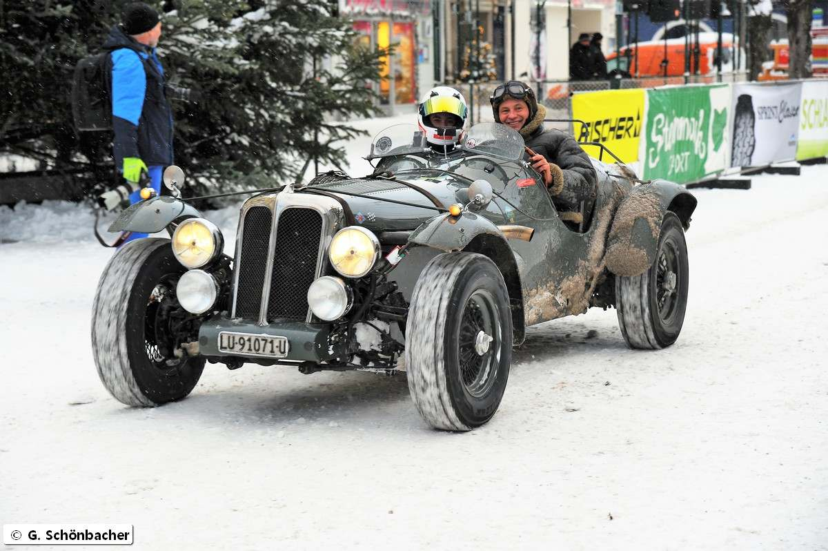 planai classic18 Planai Classic   Oldtimers in Snow