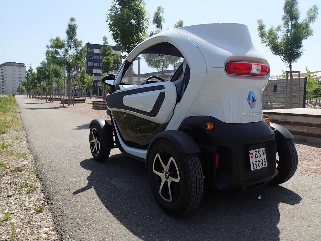 renault twizy Renault Twizy   Urban Electric Vehicle