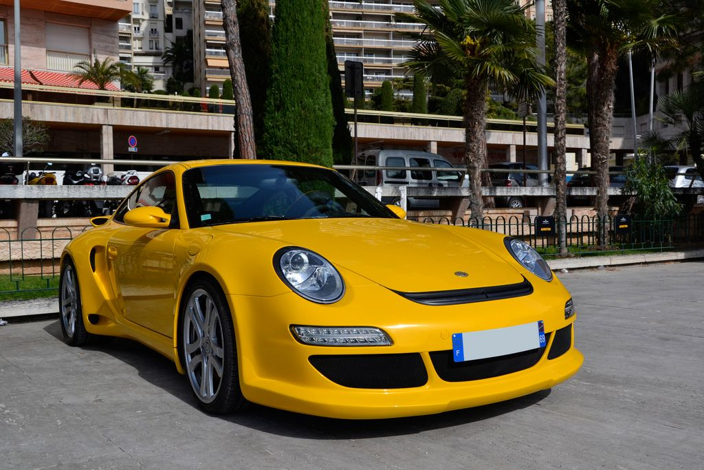 luxury super car Supercars in Monaco Before Formula One Grand Prix 2013