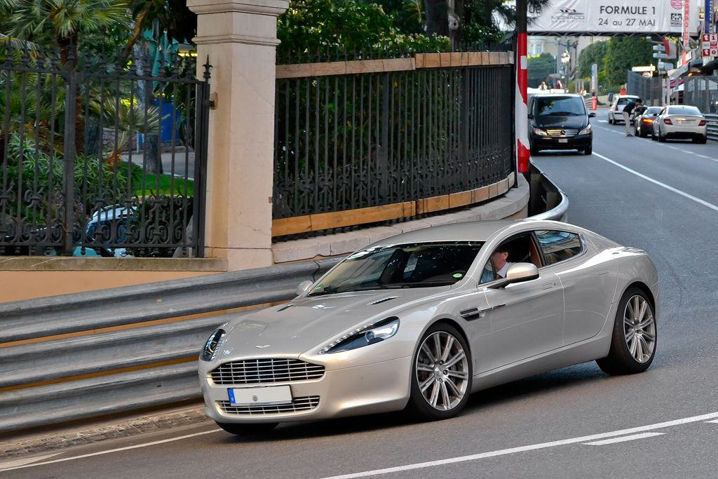 luxury super car6 Supercars in Monaco Before Formula One Grand Prix 2013
