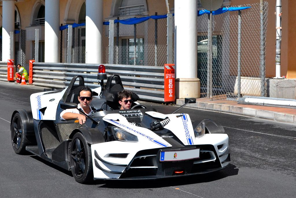 luxury super car7 Supercars in Monaco Before Formula One Grand Prix 2013