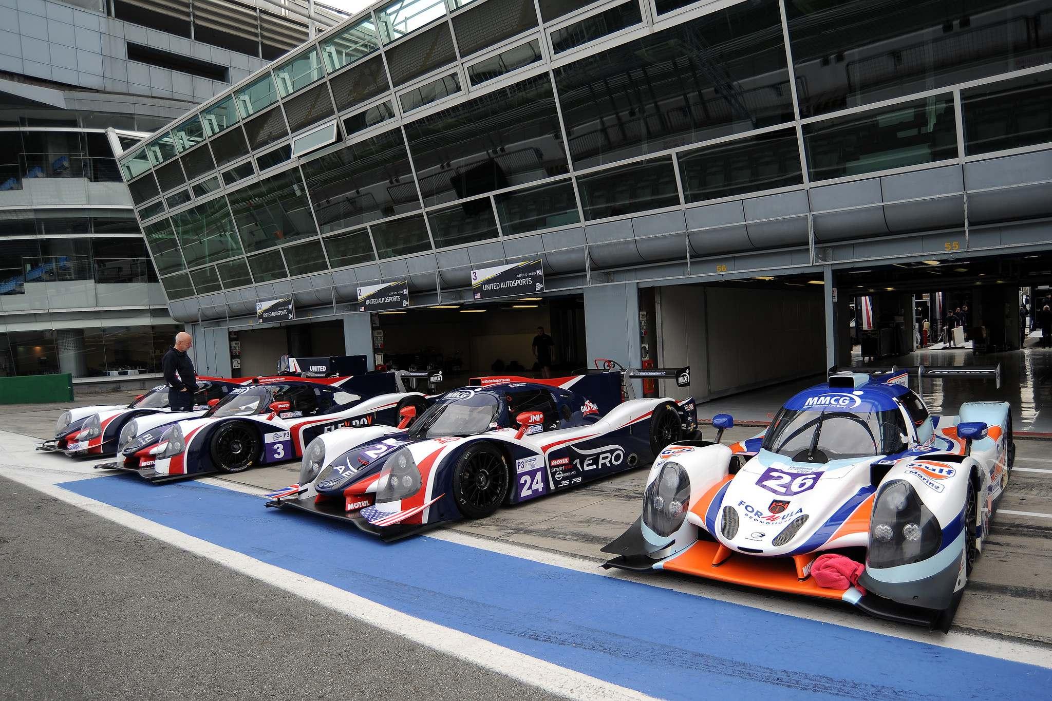 unitedautosports9 United Autosports in Monza